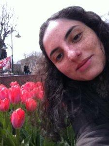 As tulipas de Silvana Salles, em Istambul, Turquia.