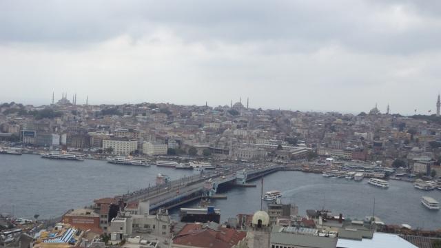Istambul vista da Torre de Gálata