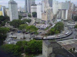 Vista do 8° andar da Câmara Municipal de São Paulo