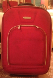 Minha mala um pouco mais suja