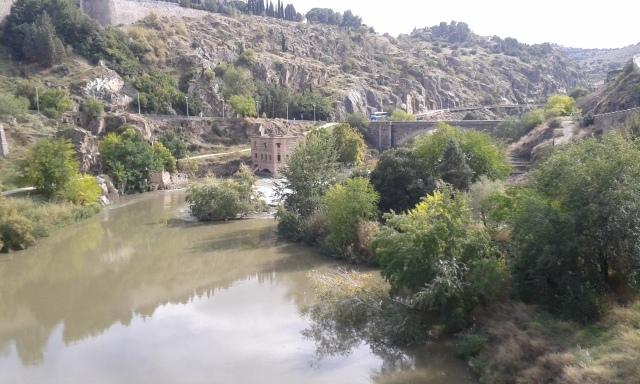 vista da ponte de Alcântara, Toledo.